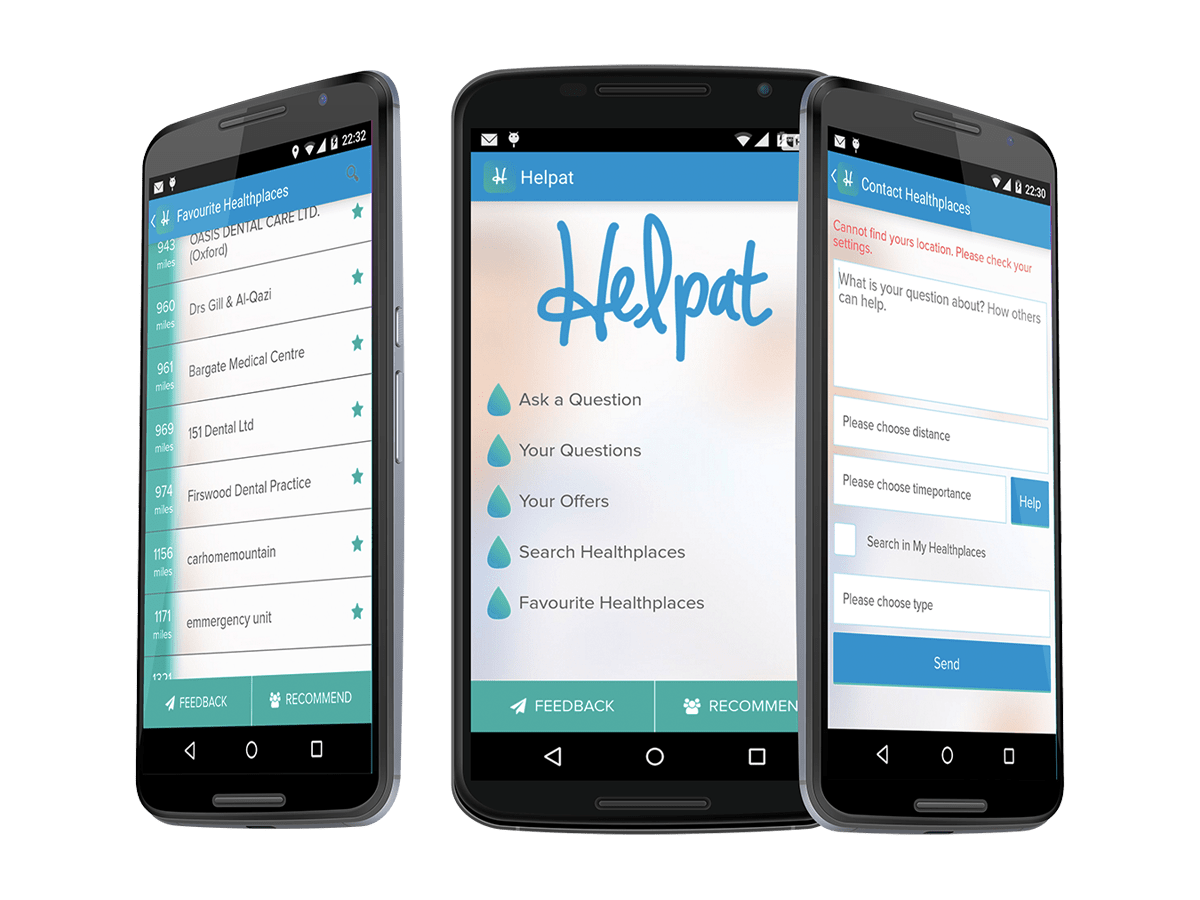 android ios application helpat