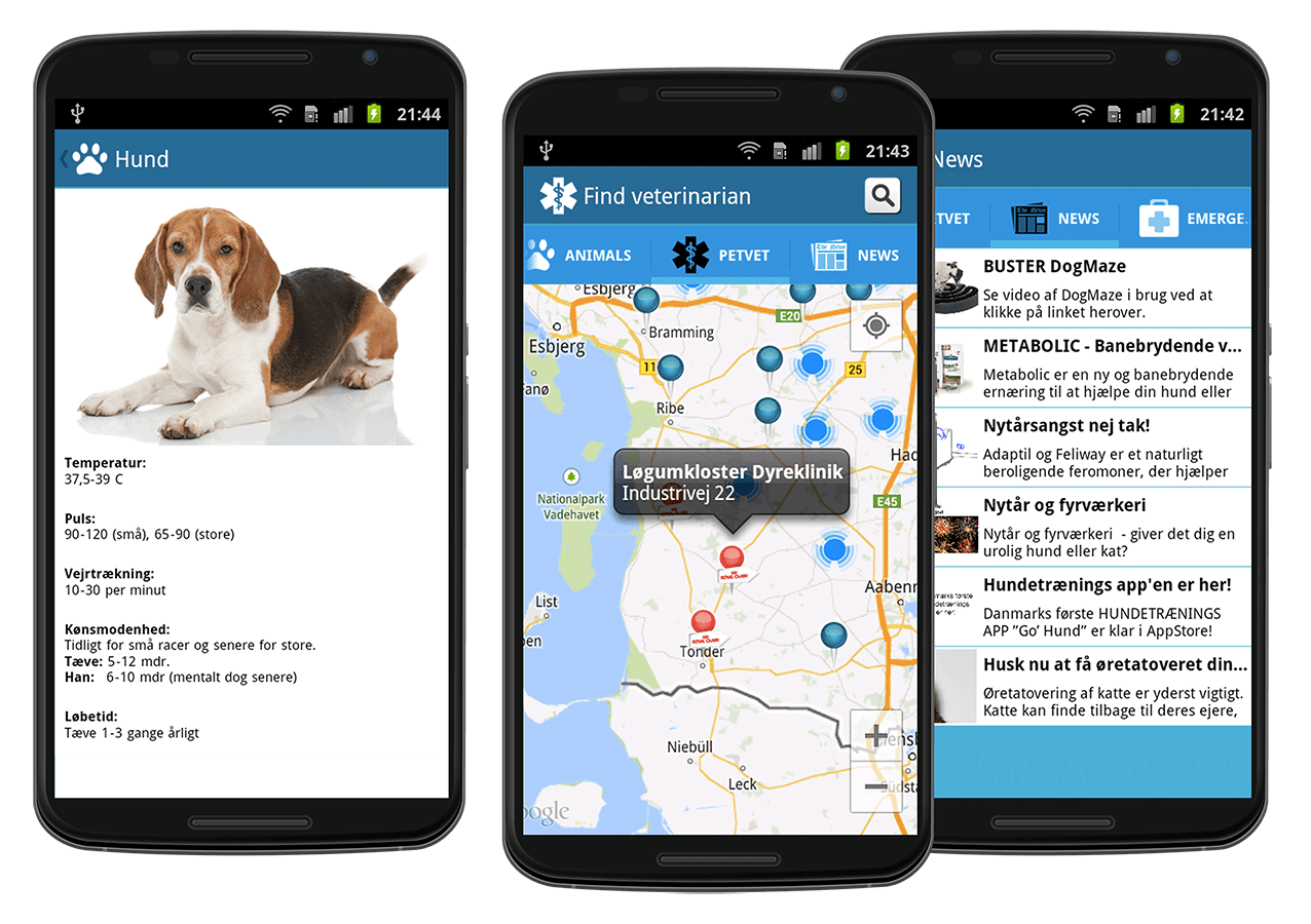 android application mypetsvet