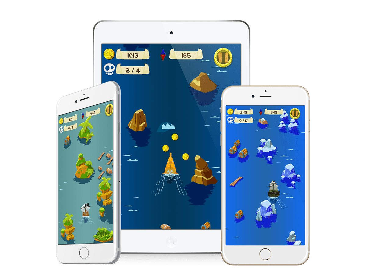 android ios game pirate ship